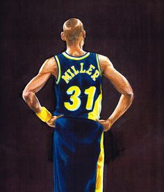 Prime number athletes … Reggie Miller #31